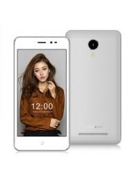 Telefon Mobil Leagoo Z5c, Dual SIM 3G, 5 inch, Quad-Core, 1+8GB, Android 6.0, Alb, BUNDLE (include Husa, Casti si Folie)